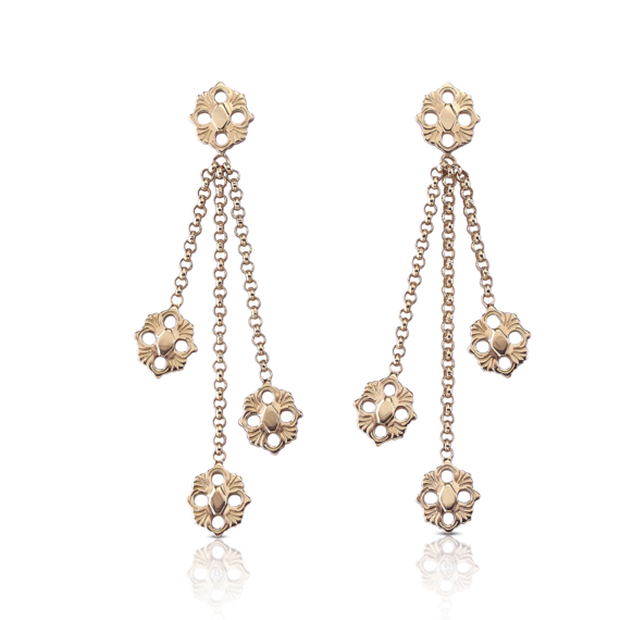 Buccellati - 耳环 - Opera Pendant Earrings - 珠宝