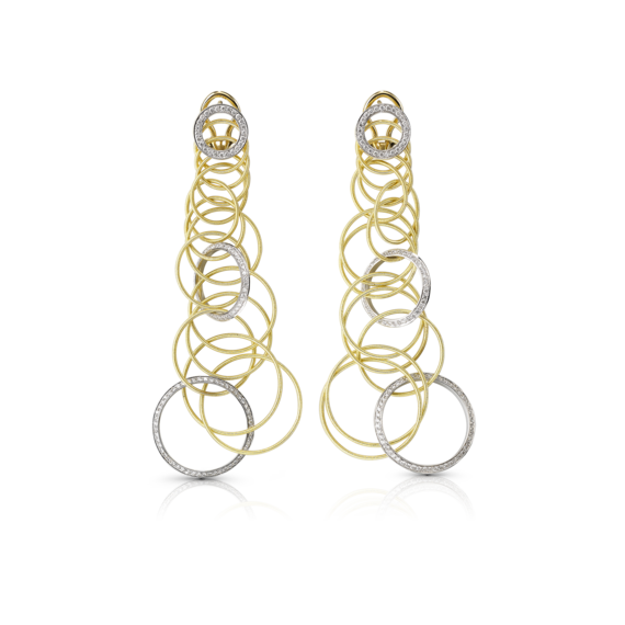 Buccellati - 耳环 - Hawaii Diamonds Pendant Earrings - 风格作品